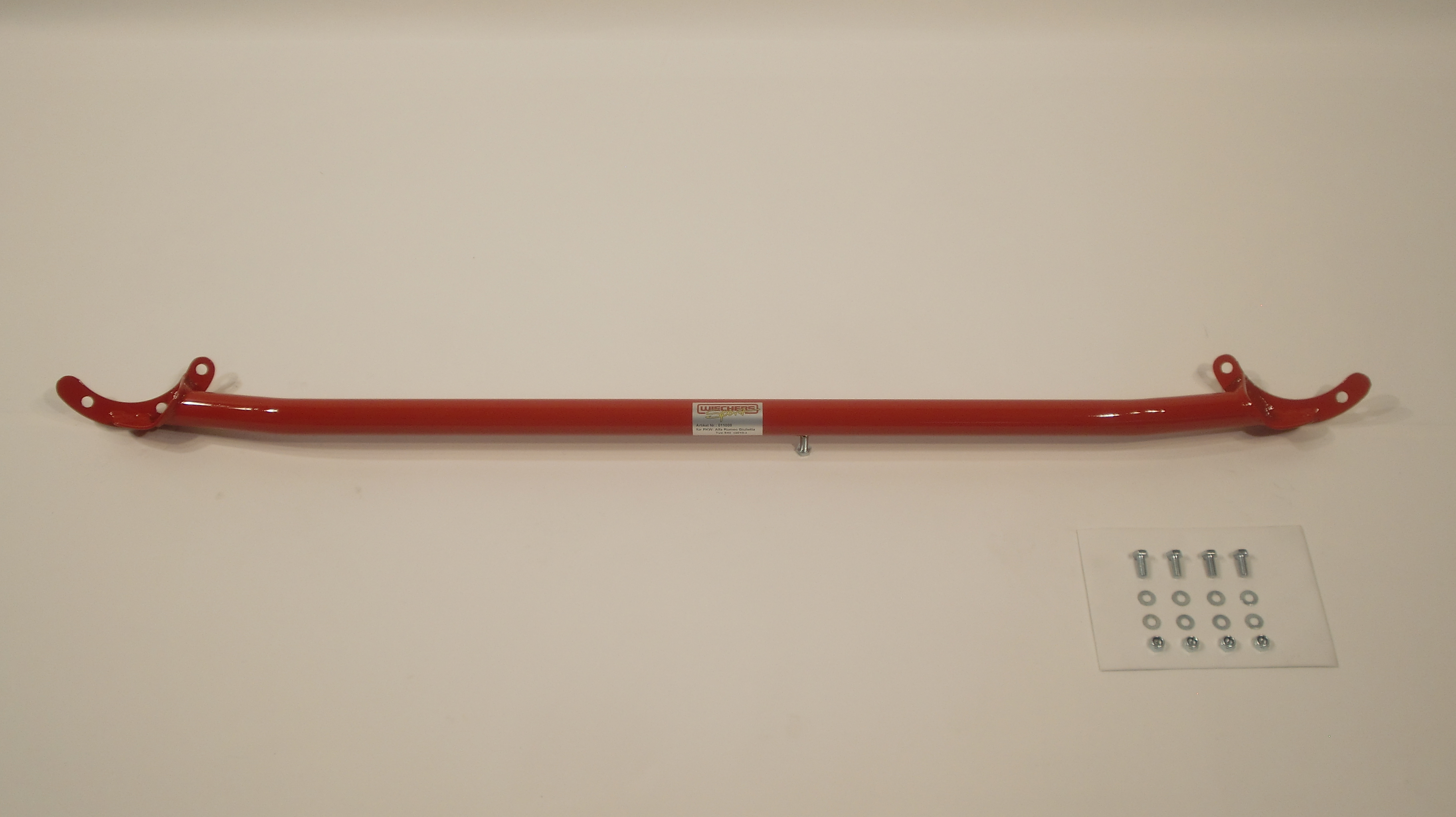 Wiechers 011008 Domstrebe Stahl vorne oben für Alfa Giulietta Typ 940