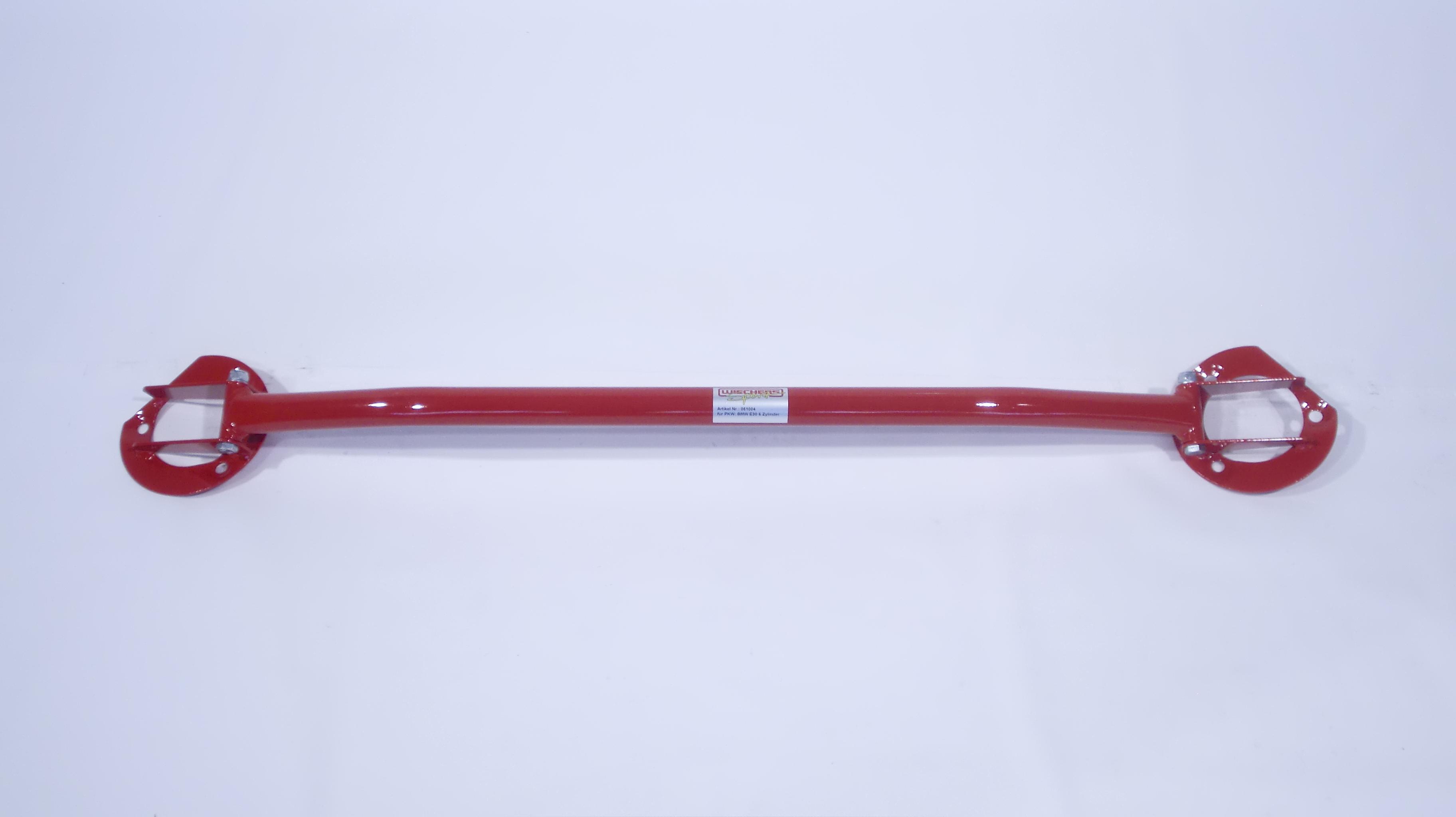 Wiechers 061004 Domstrebe Stahl vorne oben für BMW E30 6 Zylinder