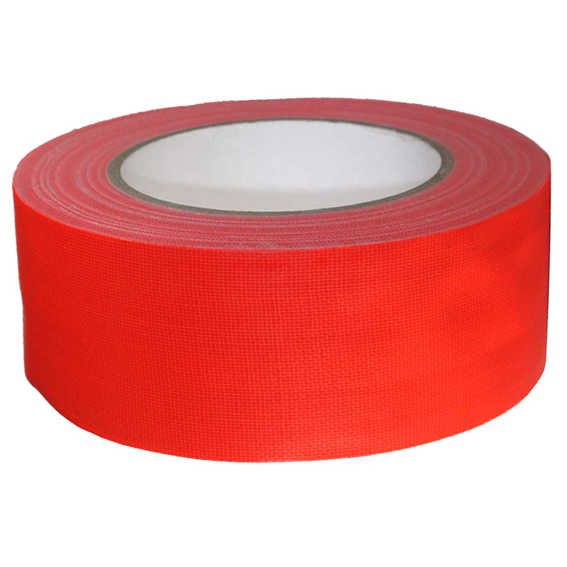 Warnband Gewebeband Panzerband Panzertape Klebeband Duct Tape Neon Orange 50mm
