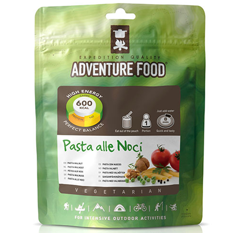 Adventure Food Pasta alle Noci Pasta mit Walnüssen Outdoor Fertiggerichte