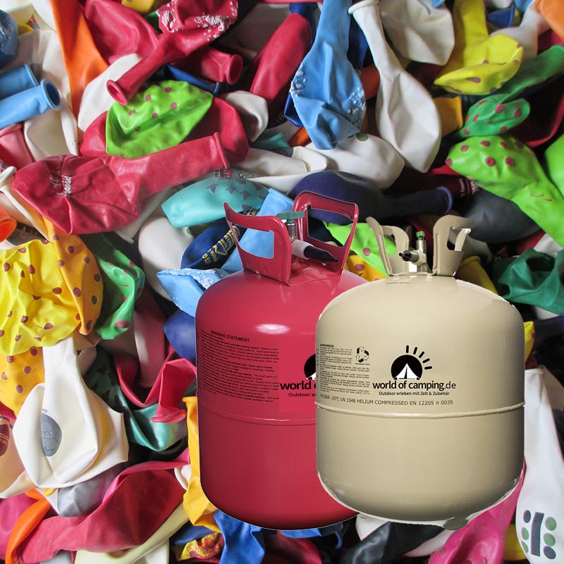 helium ballongas f r 100 luftballons einweg heliumflasche folienballons ballon ebay. Black Bedroom Furniture Sets. Home Design Ideas