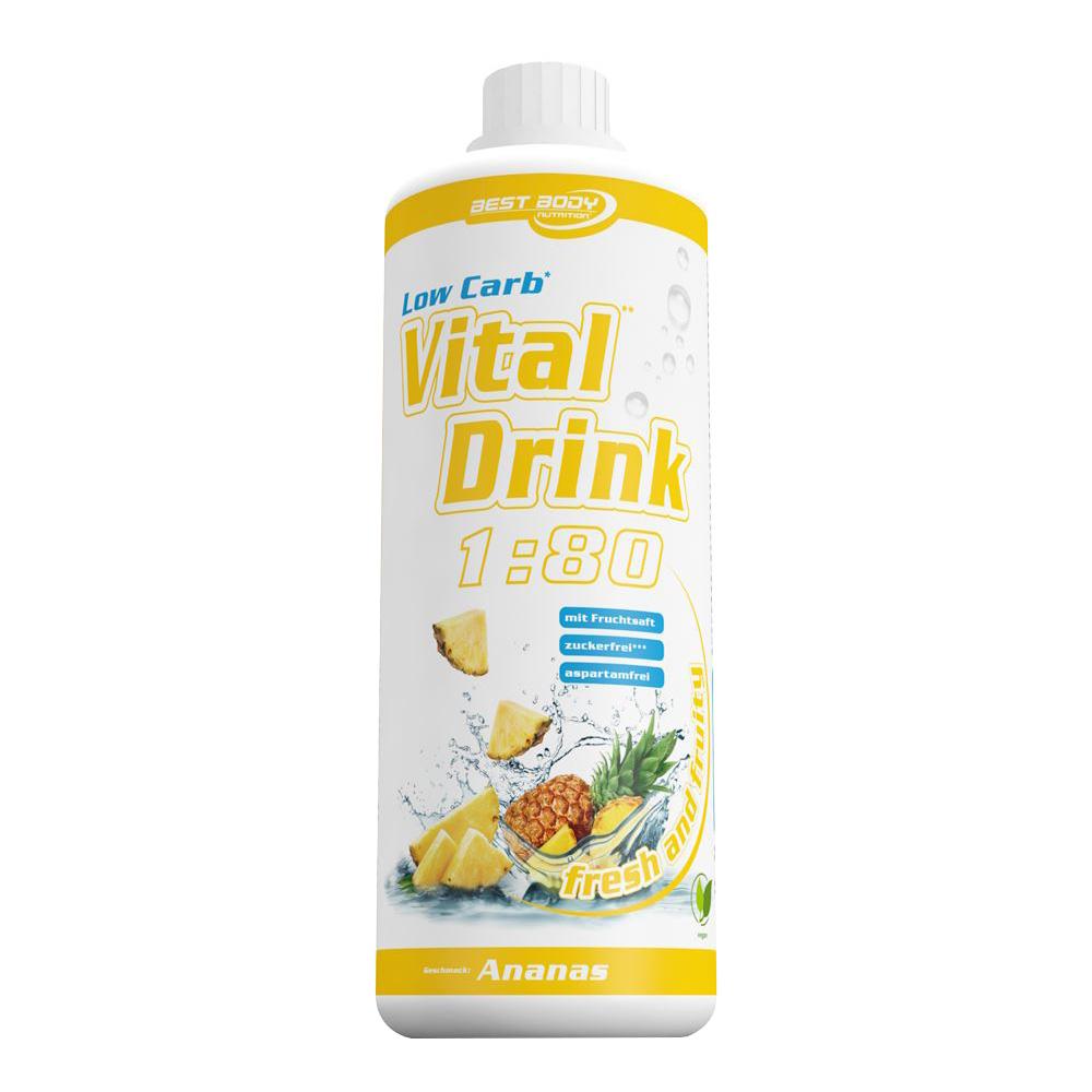 Ananas Mineraldrink Nutrition Getränkekonzentrat kalorienarmer Vital Drink 1L
