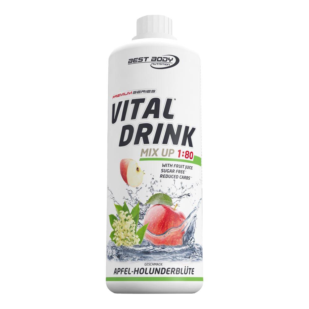 Apfel Holunder Mineraldrink Nutrition Getränkekonzentrat kalorienarm Vital Drink