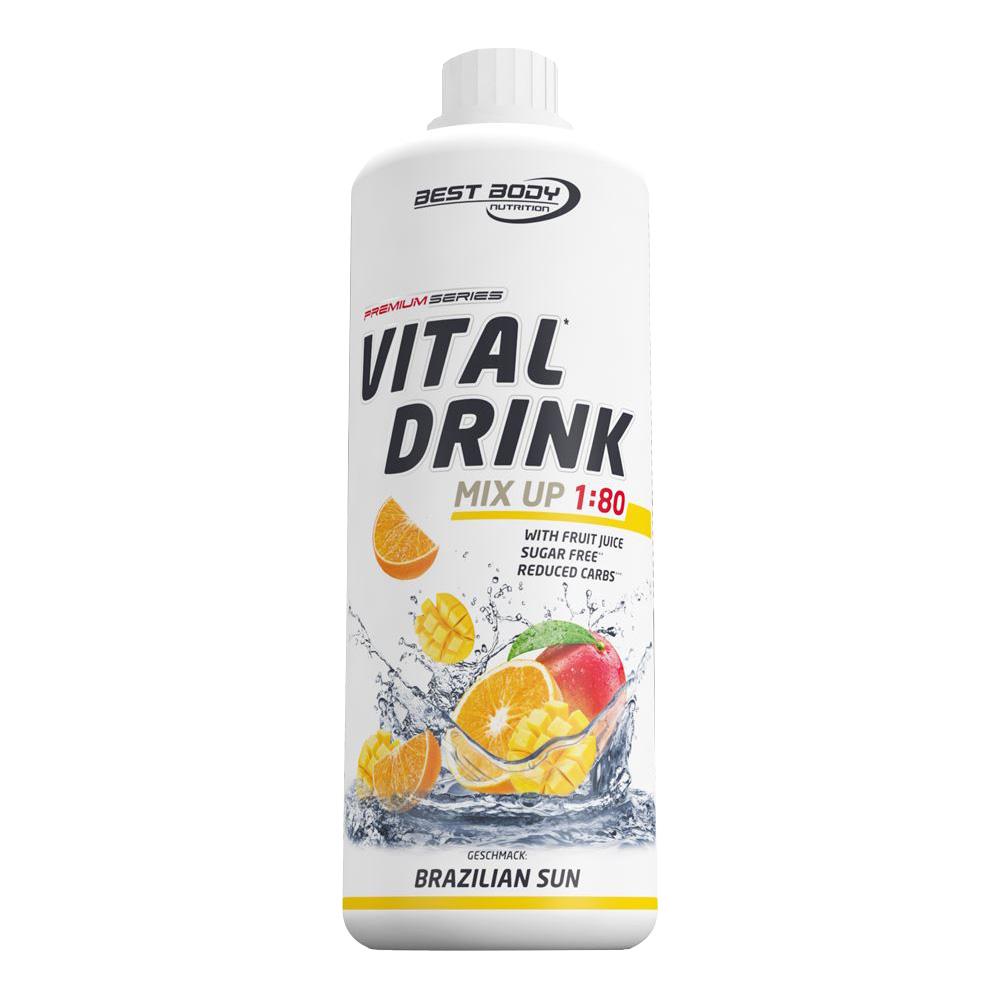 Brazilian Sun Mineraldrink Nutrition Getränkekonzentrat kalorienarm Vital Drink