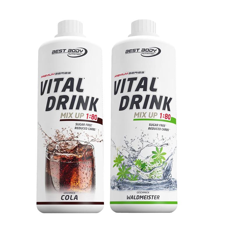 Getränkekonzentrat Sirup Mineraldrink 1:80 Vital Drink Nutrition 1000ml