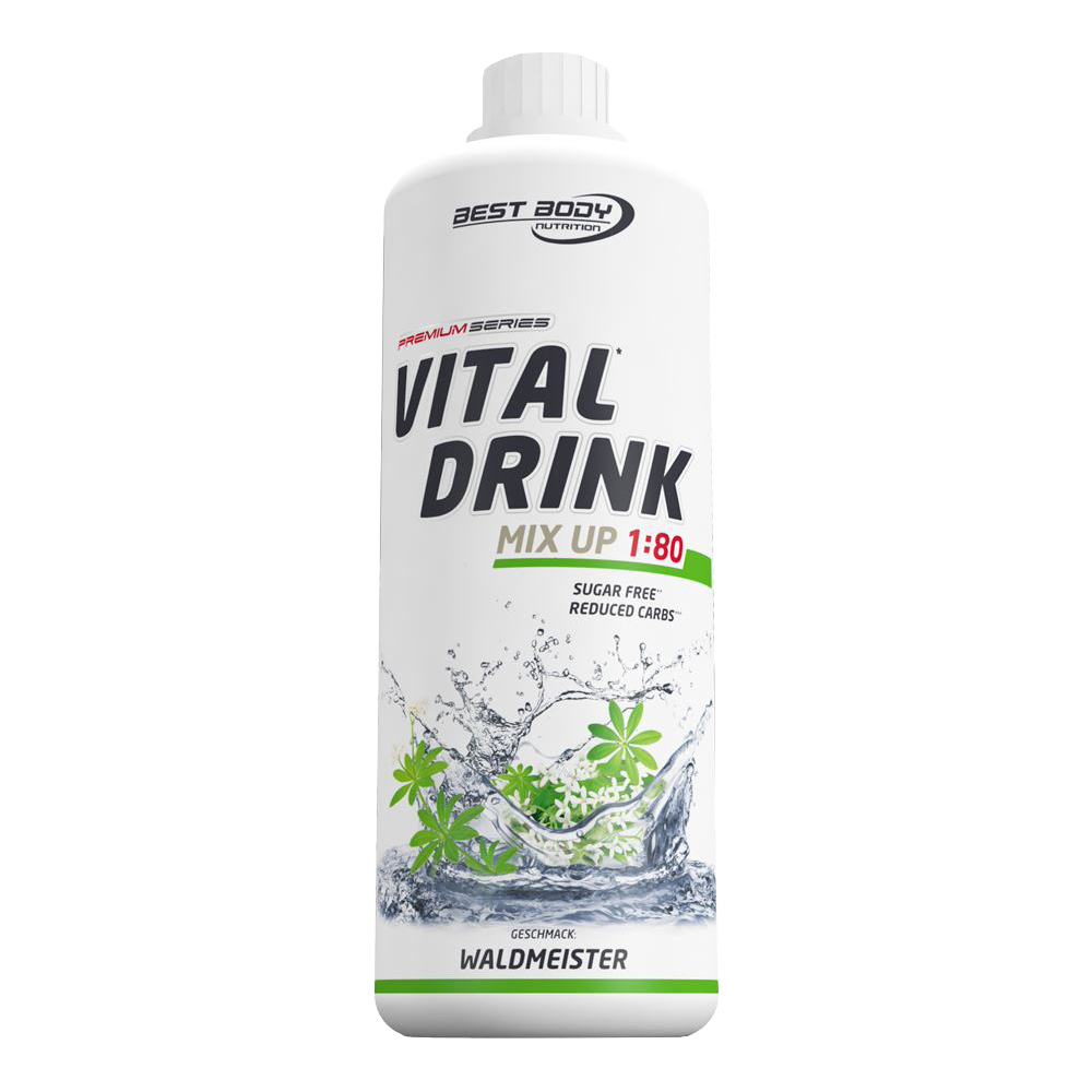 Waldmeister Mineraldrink Nutrition Getränkekonzentrat kalorienarm Vital Drink 1L