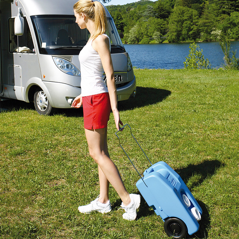fiamma roll tank wassertank wohnwagen wohnmobil camping. Black Bedroom Furniture Sets. Home Design Ideas