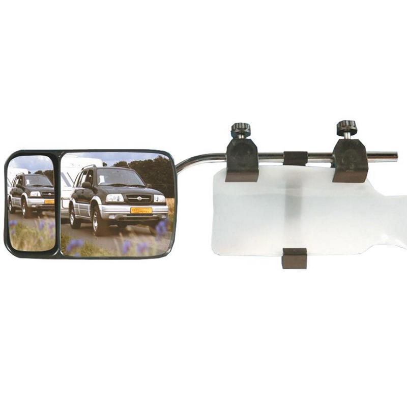 Caravan Wohnwagen Toter Winkel Spiegel Scope Universal Aufsteck Camping 2 Stück