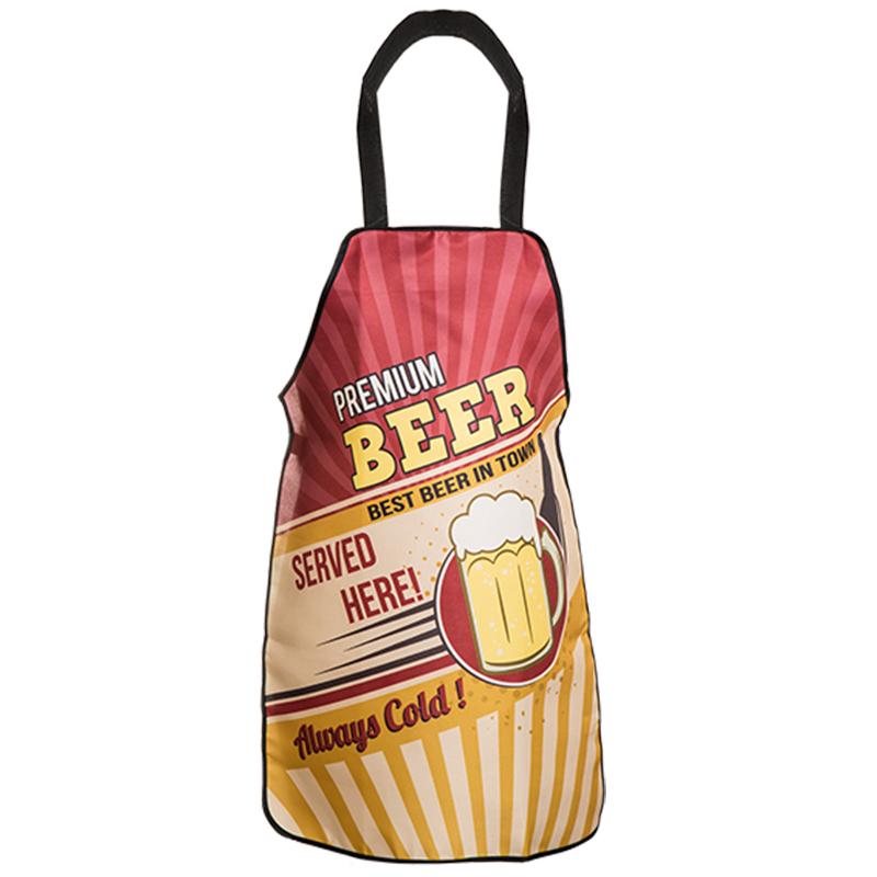 Küchenschürze Grillschürze Kochschürze Schürze Latzschürze Vintage BBQ Beer