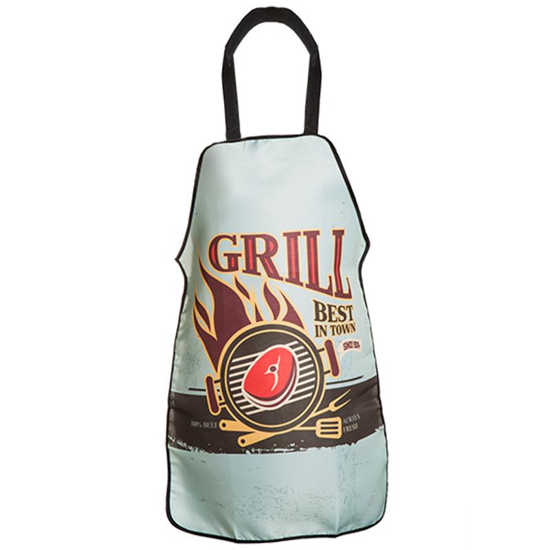 Küchenschürze Grillschürze Kochschürze Schürze Latzschürze Vintage BBQ Grill