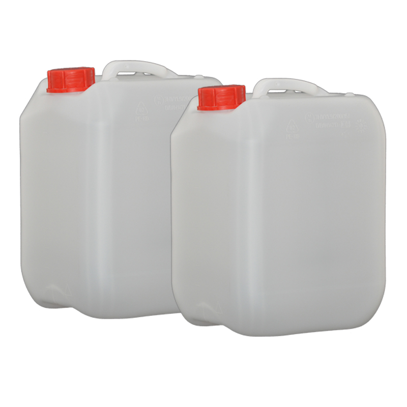 2x Hünersdorff 10L Profi Wasser Kanister mit Verschluss opt. Hahn erhältlich