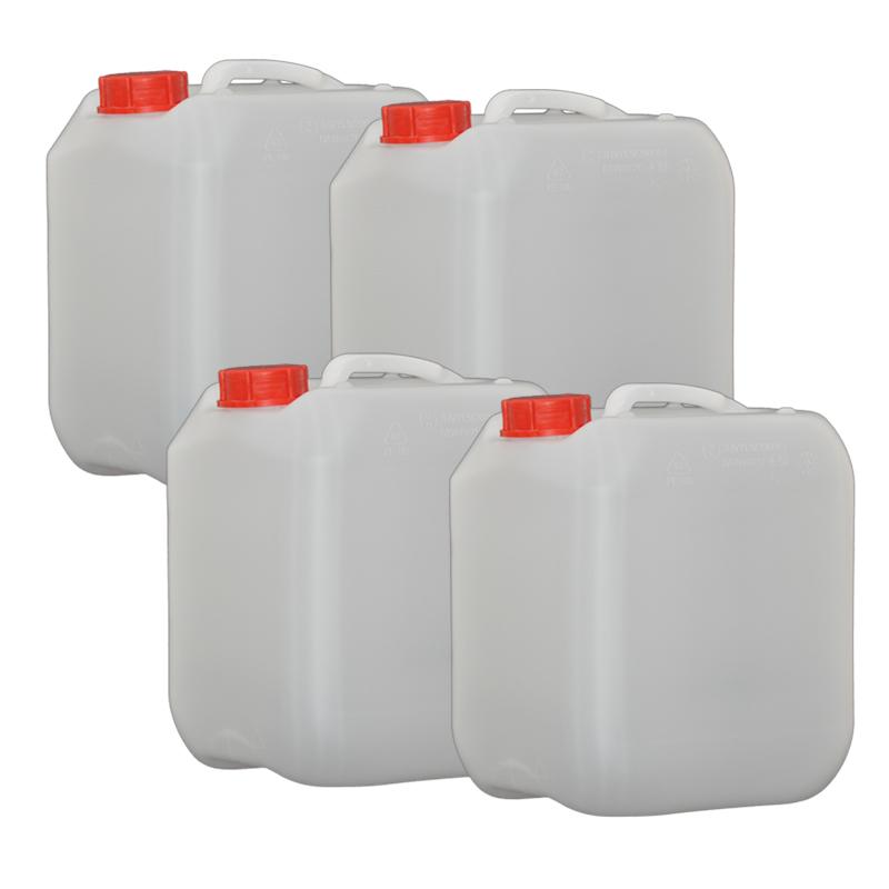 4x Hünersdorff 10L Profi Wasser Kanister mit Verschluss opt. Hahn erhältlich