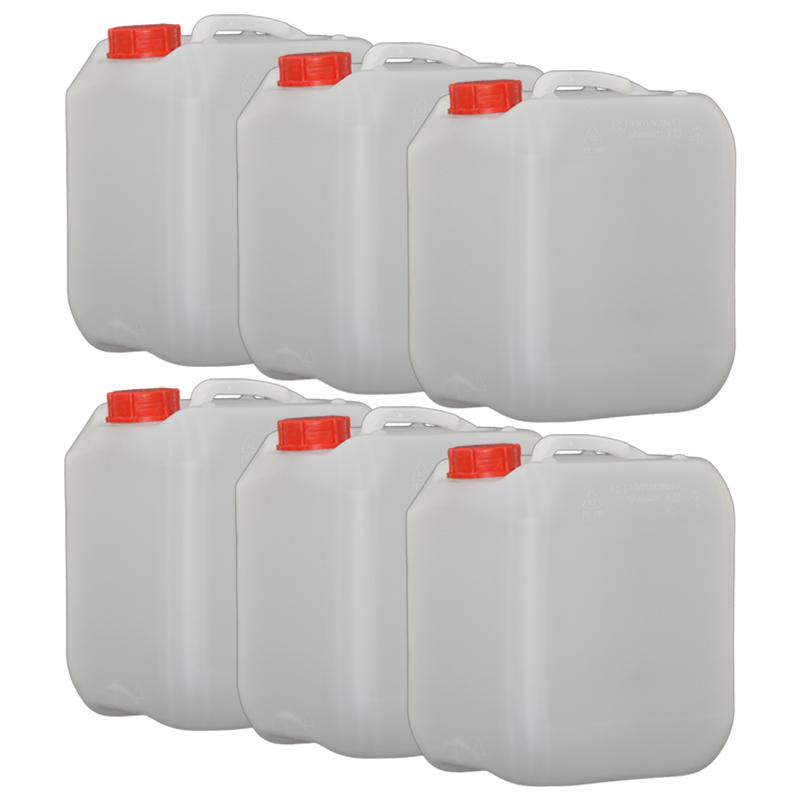 6x Hünersdorff 10L Profi Wasser Kanister mit Verschluss opt. Hahn erhältlich