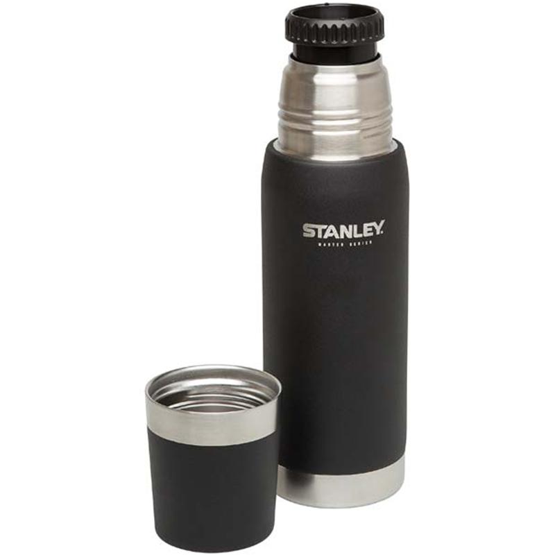 Stanley Vacuum Bottle 0,75 l QuadVac Vakuumisolierung mattschwarze Beschichtung