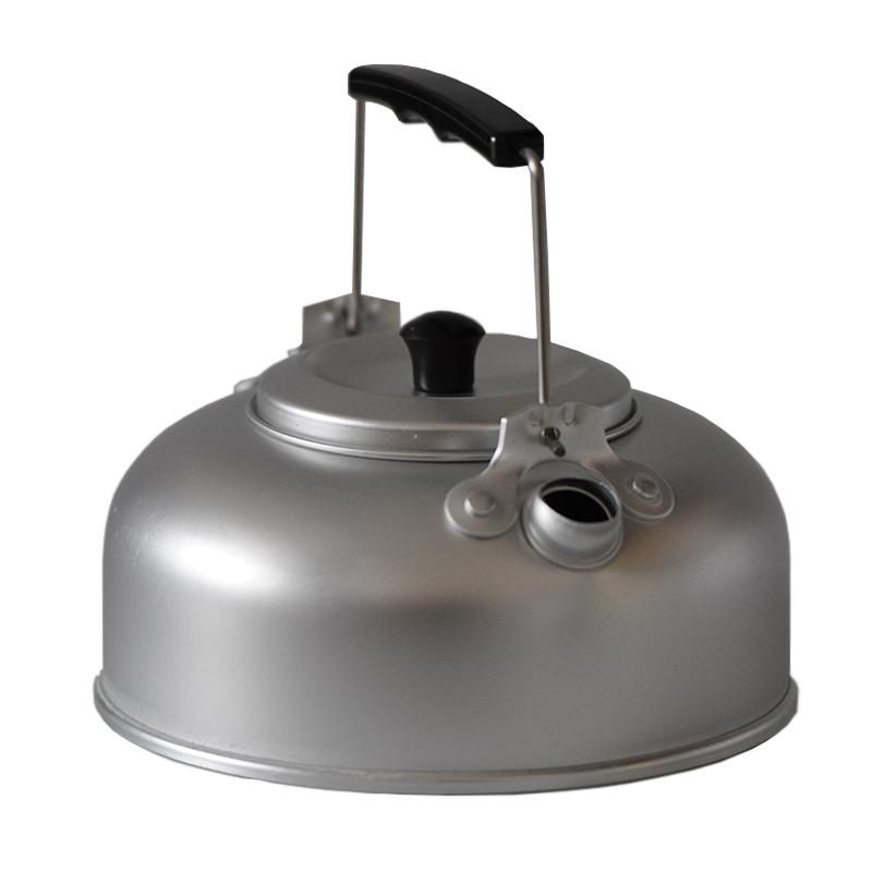 Teekessel Alu 1Liter Outdoor Wasser Kessel Teesieb Wasserkocher Teekanne Camping