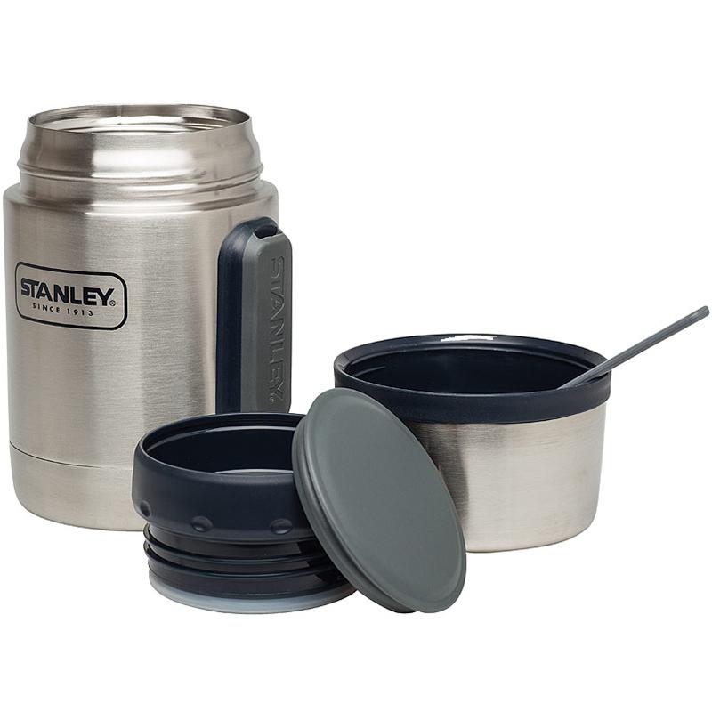 Stanley Adventure Vaccum Food Container 0,5L 18/8 Edelstahl Vakuum Essbesteck