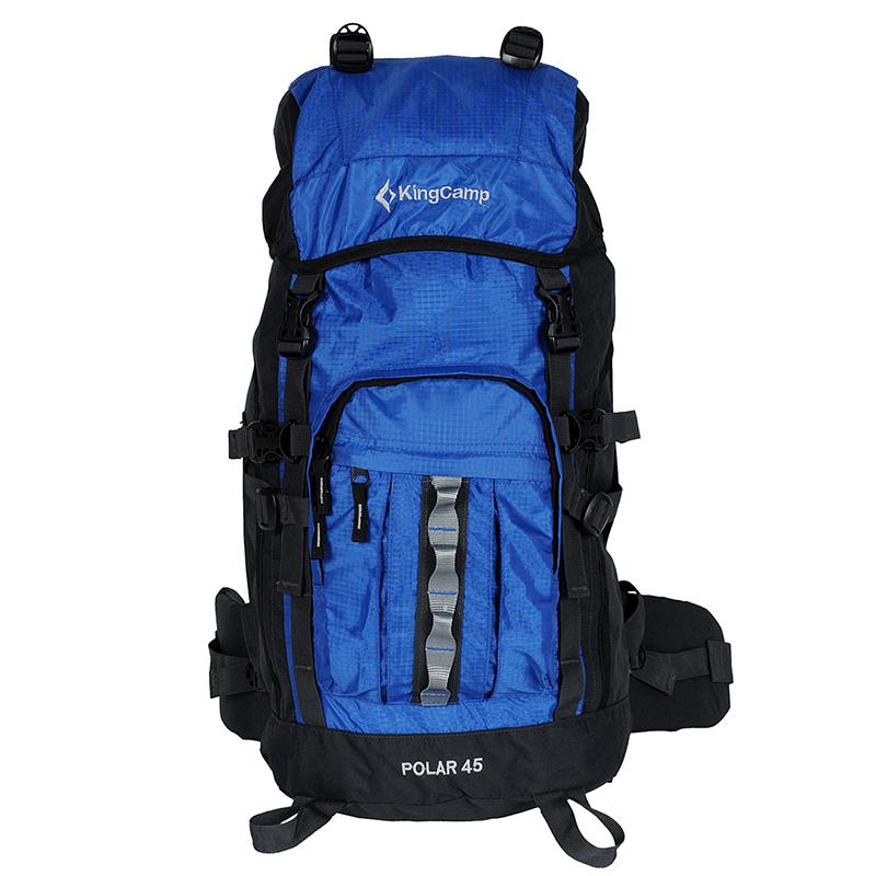 45L blau Outdoor Camping Rucksack Polar 45 AirFlow Wandern Trekking Reise Gepäck