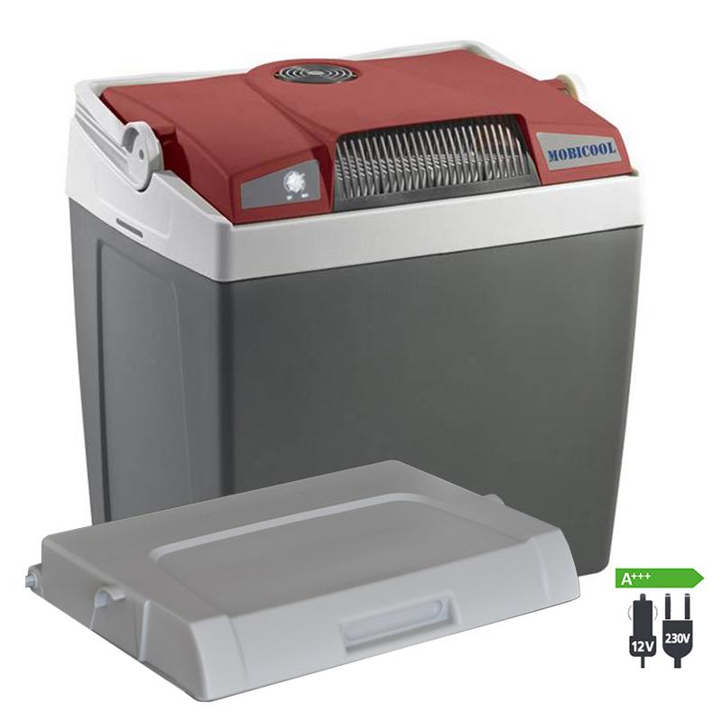 WAECO Mobicool G26 AC/DC Thermoelektrische Kühlbox 12|230 Volt Passivdeckel