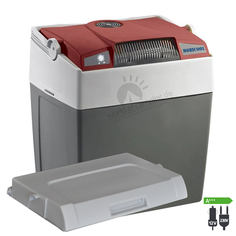 WAECO Mobicool G30 AC/DC Thermoelektrische Kühlbox 12 / 230 Volt Passivdeckel