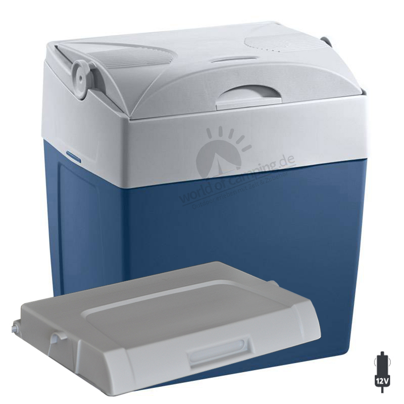 WAECO Mobicool U30 DC Thermoelektrische Kühlbox 12 Volt 29 Liter Passivdeckel