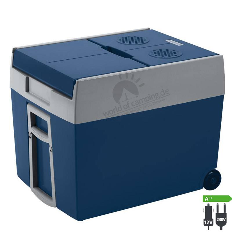 WAECO Mobicool W48 AC/DC Thermoelektrische Kühlbox 12/230 Volt 48 Liter Räder