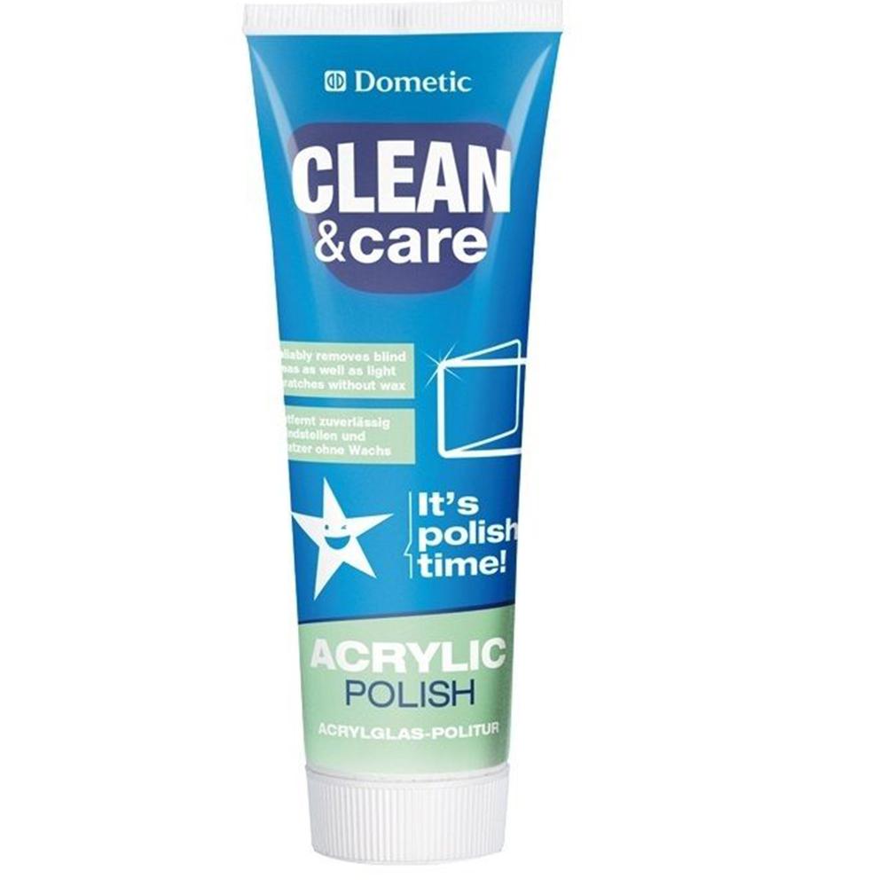 WAECO Dometic Acrylglas Politur Reinigungsmittel Pflegemittel - ohne Wachs 75ml