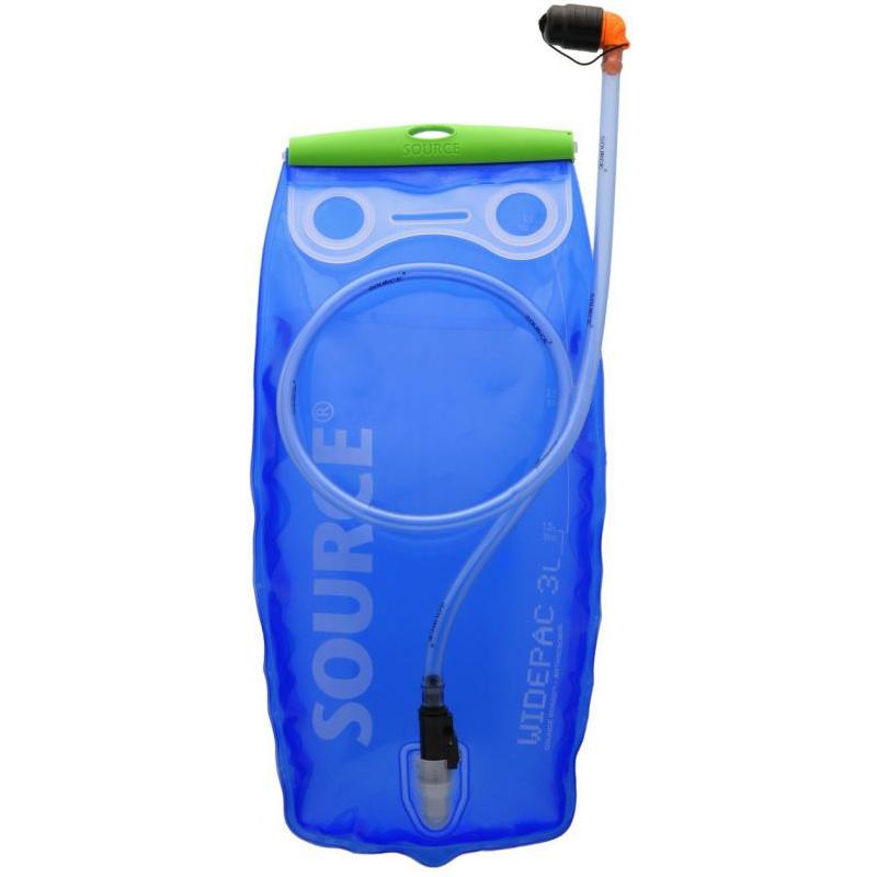 Trinkblase Wasserblase Wassersack Trinksystem Source Widepac 3,0 Liter Blau