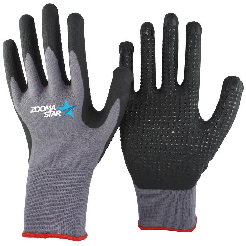 Schutzhandschuh Handschuh Arbeitshandschuhe Nitrilhandschuhe Montage Größe 9