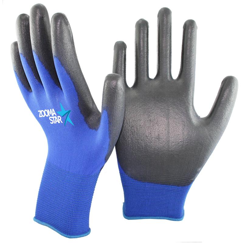 Schutzhandschuh Handschuh Arbeitshandschuhe PU Beschichtung Montage Größe 9